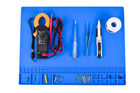 HOYATO Heat Insulation 932°F Silicone Soldering Repair Mat Station Blue For Soldering Iron