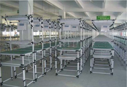 Durable Safety Anti Static Workbench , Customized ESD Work Table OEM / ODM Accepted